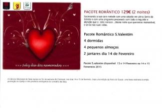 Pacote Romântico S. Valentim